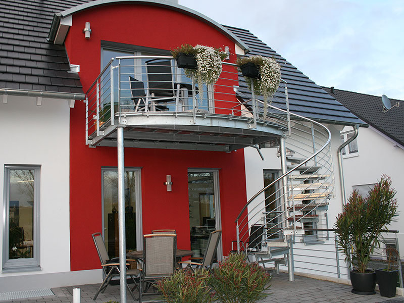 Balkonanbau Masstreppen Trautmann