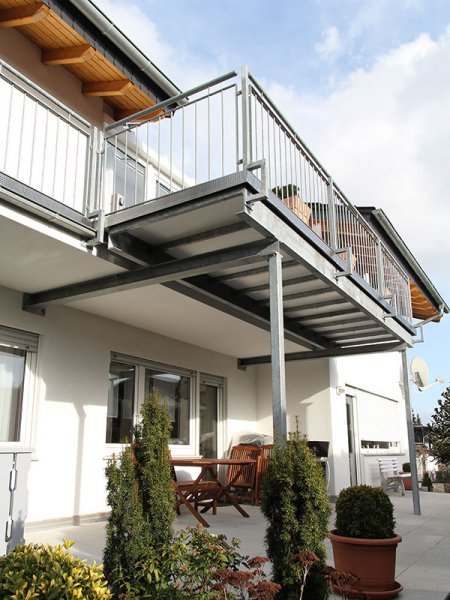 balkonanbau masstreppen trautmann. Black Bedroom Furniture Sets. Home Design Ideas